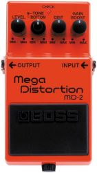 Гитарная педаль дисторшн BOSS MD-2 Mega Distortion