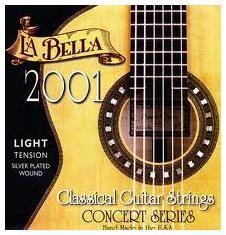 Струны LA BELLA 2001 Light