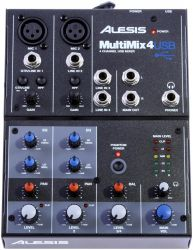 USB-микшерный пульт ALESIS MultiMix 4USB