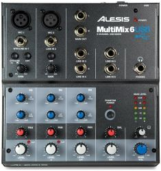 Микшерный пульт ALESIS MultiMix 6USB