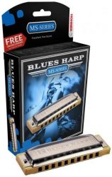 Губная гармошка HOHNER BLUES HARP 532/20 MS A (M533106X) с урока