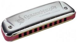 Губная гармошка HOHNER GOLDEN MELODY
