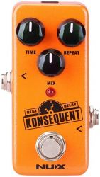 Педаль эффектов Nux NDD-2 Konsequent Digital Delay