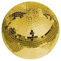 Зеркальный шар EUROLITE Mirror Ball 30 cm GOLD