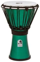 Джембе TOCA TFCDJ-7MG Freestyle Colorsound Djembe X-Small Metallic Green