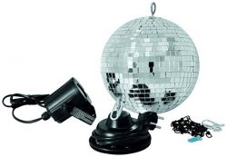 Зеркальный шар EUROLITE Mirror Ball 30 cm SET LED 6000K