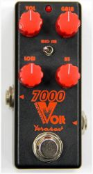 Педаль гитарная дисторшн Yerasov 7000-Volt-mini Distortion