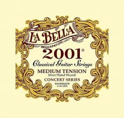 Струны La Bella 2001M 2001 Medium