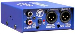 Директ-бокс ARX AUDIO BOX PSU 6
