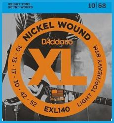 Струны D`Addario EXL140 XL NICKEL WOUND