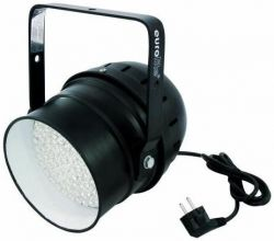 Прожектор EUROLITE LED PAR-64 RGBA spot , black, 10mm