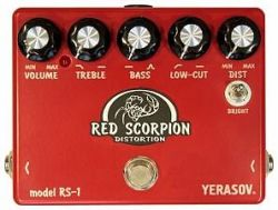 Педаль эффектов Yerasov Insect-RS-1 Red Scorpion Distortion