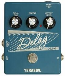 Педаль гитарная дилэй Yerasov DM-6 Delay