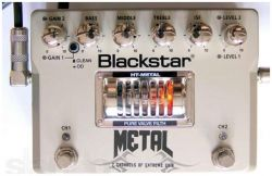Гитарная педаль дисторшн, эквалайзер BLACKSTAR HT-Metal