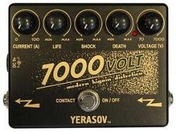 Педаль эффектов дисторшн Yerasov 7000-Volt Modern higain distortion